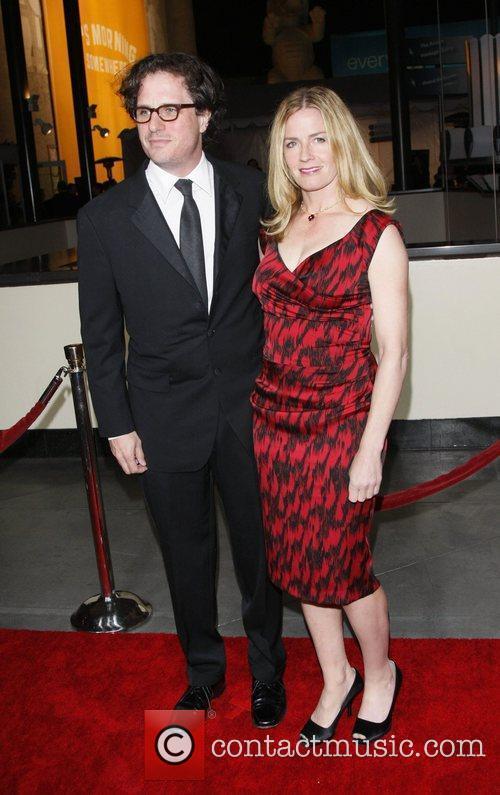 Davis Guggenheim and Elisabeth Shue 2