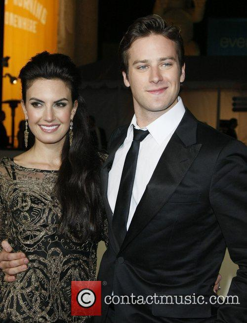 Elizabeth Chambers and Armie Hammer  63rd Annual...