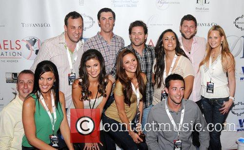 Cast members of the Bachelor alumni The Hamels...