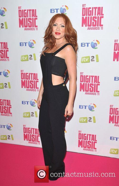 Natasha Hamilton BT Digital Music Awards 2011 held...