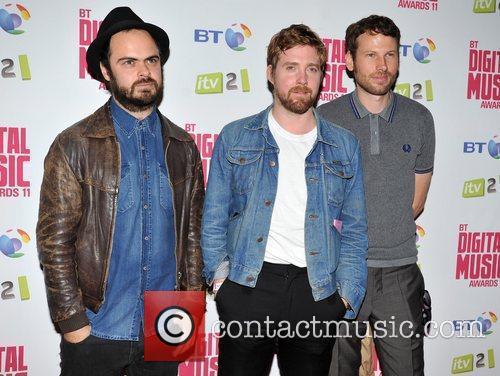 Kaiser Chiefs BT Digital Music Awards 2011 held...