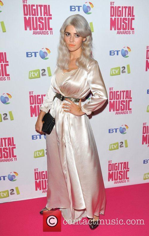 Marina Diamandis BT Digital Music Awards 2011 held...
