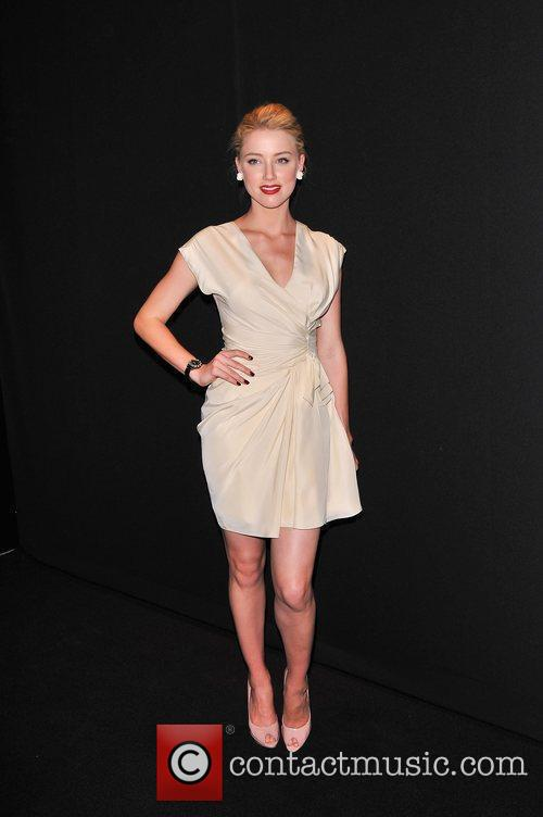 Amber Heard   Dior Celebrates The Launch...
