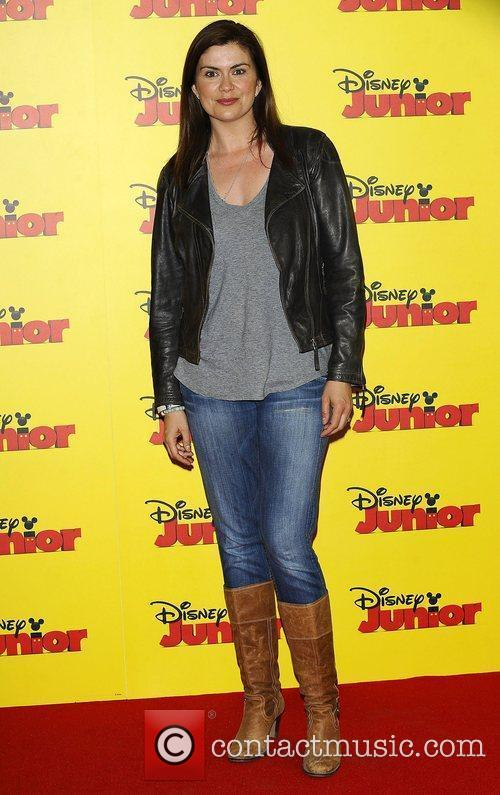 Amanda Lamb at the Disney Junior launch party...
