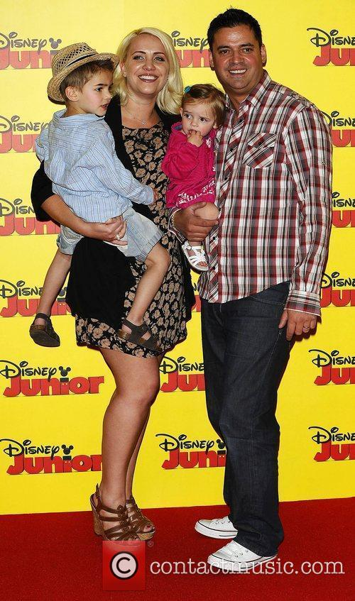 Claire Richards at the Disney Junior launch party...