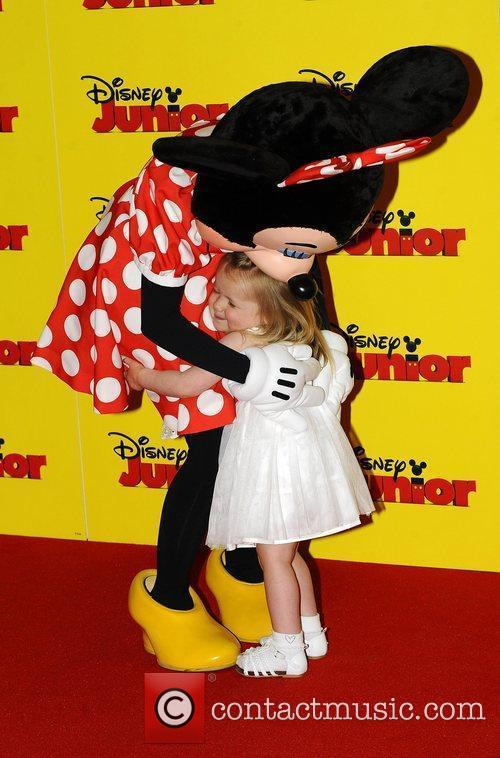 Atmosphere at the Disney Junior launch party held...