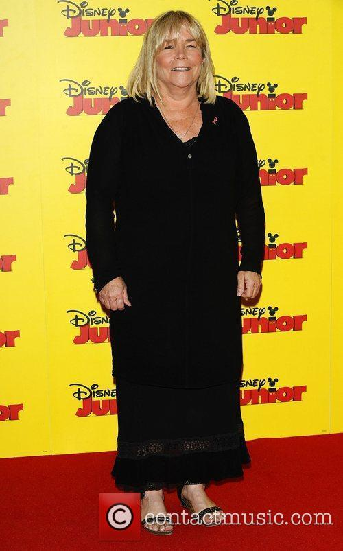 Linda Robson at the Disney Junior launch party...