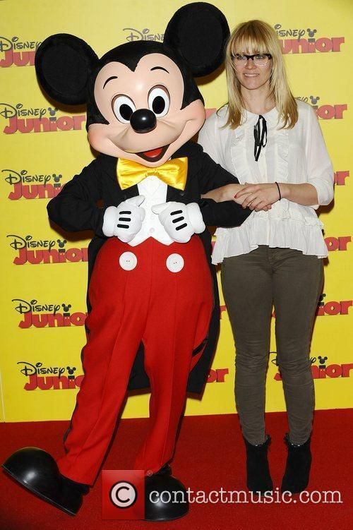 Edith Bowman at the Disney Junior launch party...