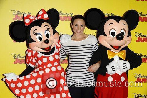 Melanie Chisholm at the Disney Junior launch party...