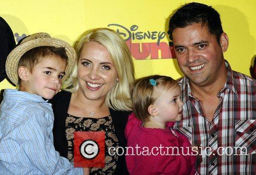 Ex Steps singer Claire Richards at the Disney...