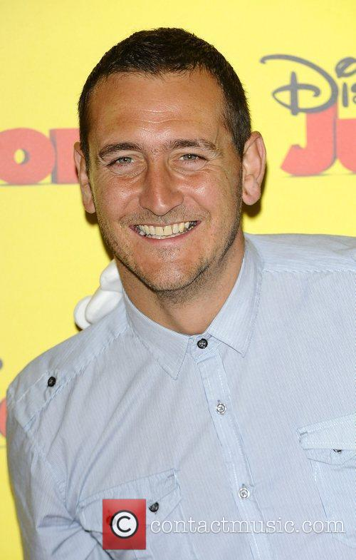 Will Mellor at the Disney Junior launch party...