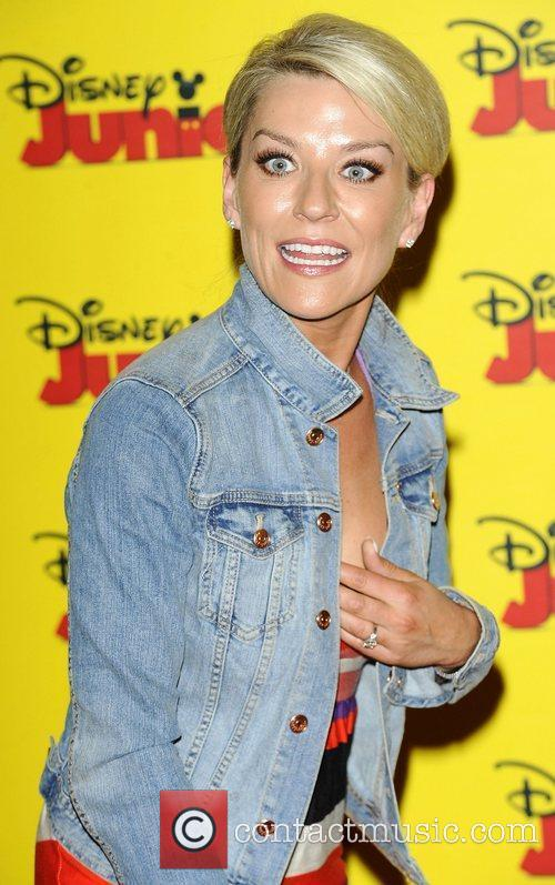 Zoe Lucker at the Disney Junior launch party...