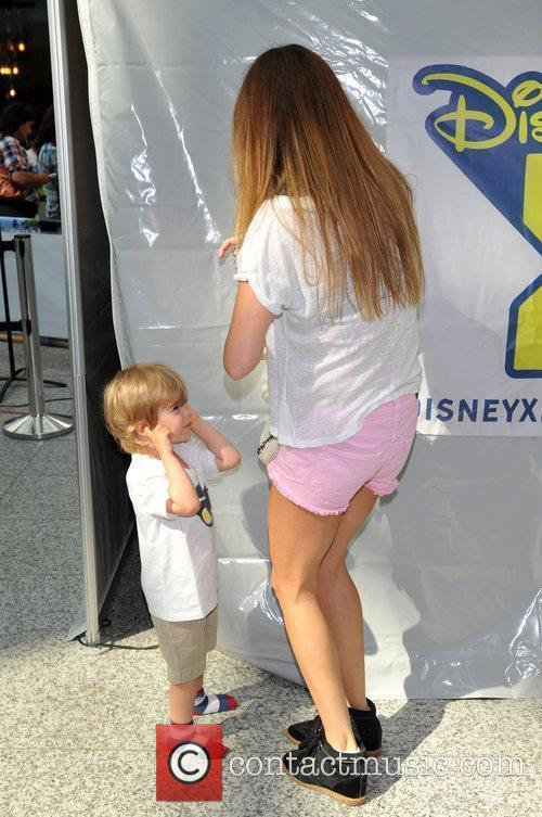 Sara MacDonald with her son Disney XD Challenge...