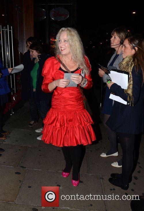 Debbie Bright  leaving the Disney store on...
