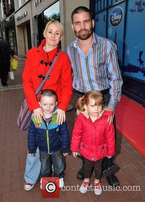 Bernard Dunne and Pamela Dunne with kids Finian...