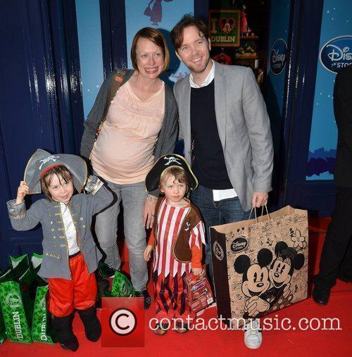 Dermot Whelan and Aisling Whelan with kids Matthew...