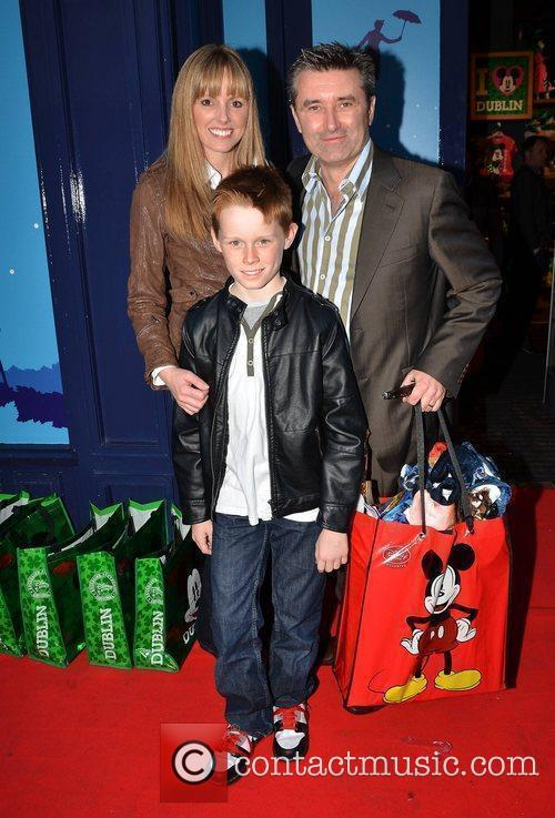 Jenny McCarthy and Martin King with son Matthew...