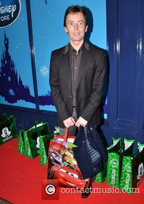 Ken Doherty at the launch of the Disney...