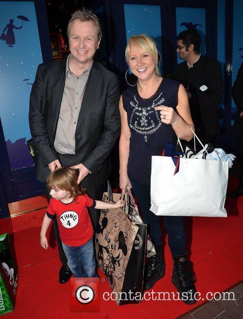 Matt Cooper and Eileen Cooper with son Harry...