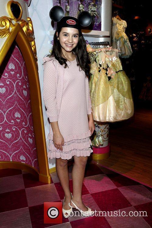Ana Golja  Disney Store Re-Launch at Square...