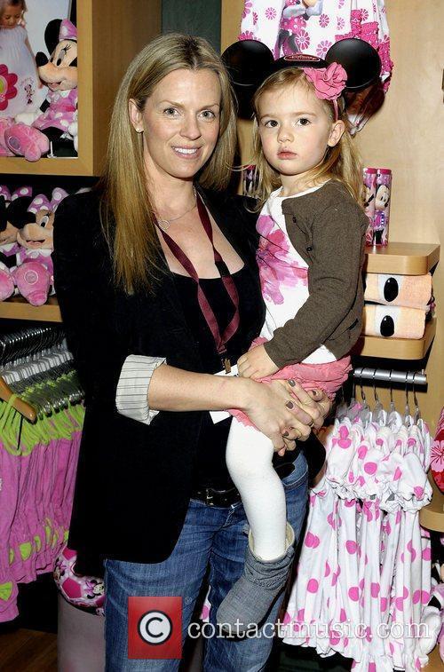 Ingrid Kavelaars and daughter Eremson Eakins  Disney...