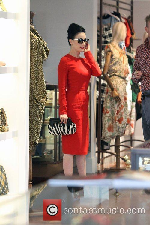 Dita Von Teese, Clutch and Fred Segal 12