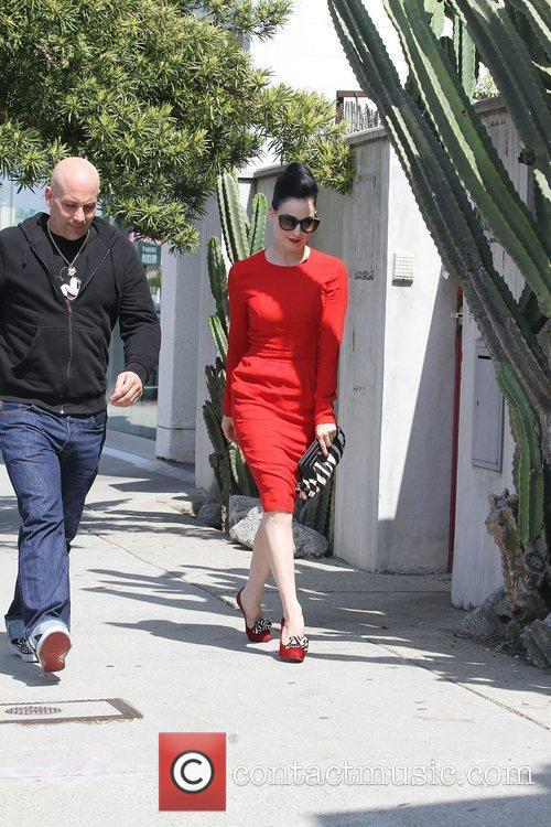 Dita Von Teese, Clutch and Fred Segal 10