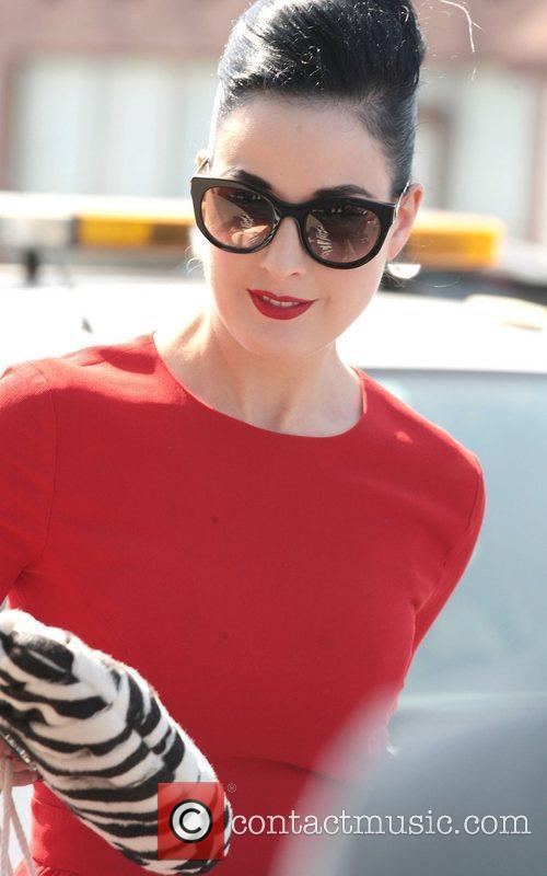 Dita Von Teese, Clutch and Fred Segal 17