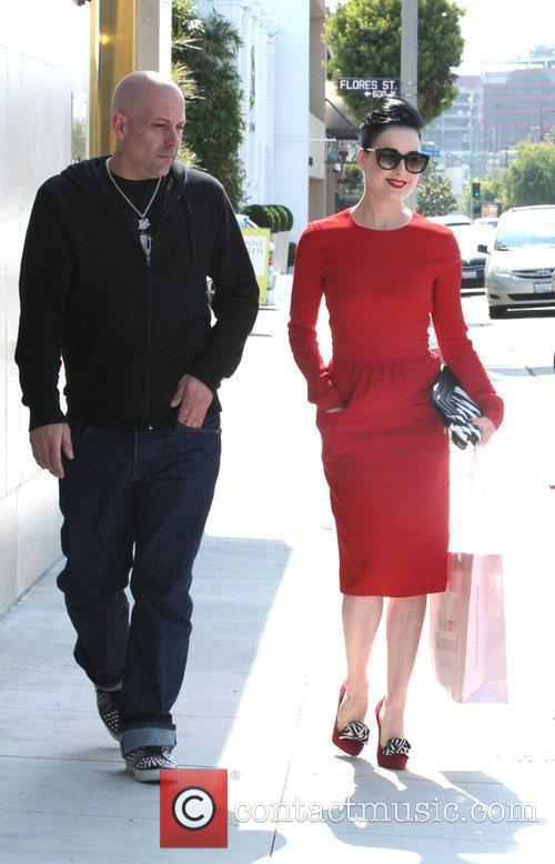 Dita Von Teese, Clutch and Fred Segal 19