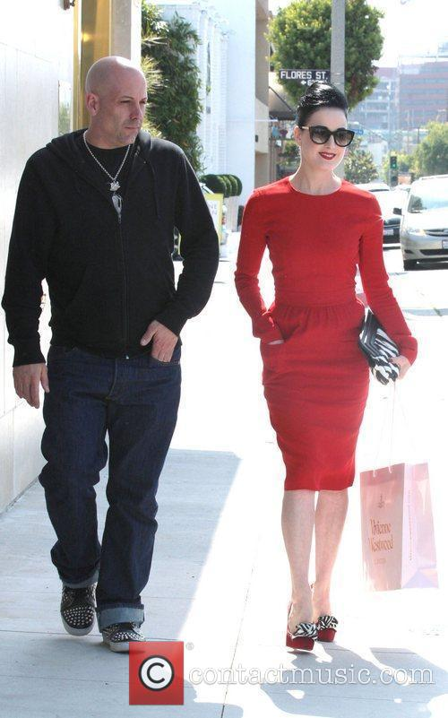 Dita Von Teese, Clutch and Fred Segal 16