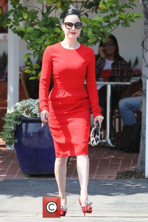Dita Von Teese, Clutch and Fred Segal 29
