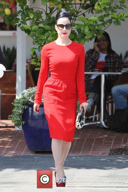 Dita Von Teese, Clutch and Fred Segal 31