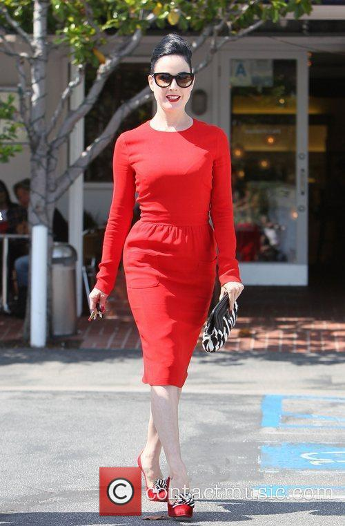 Dita Von Teese, Clutch and Fred Segal 34