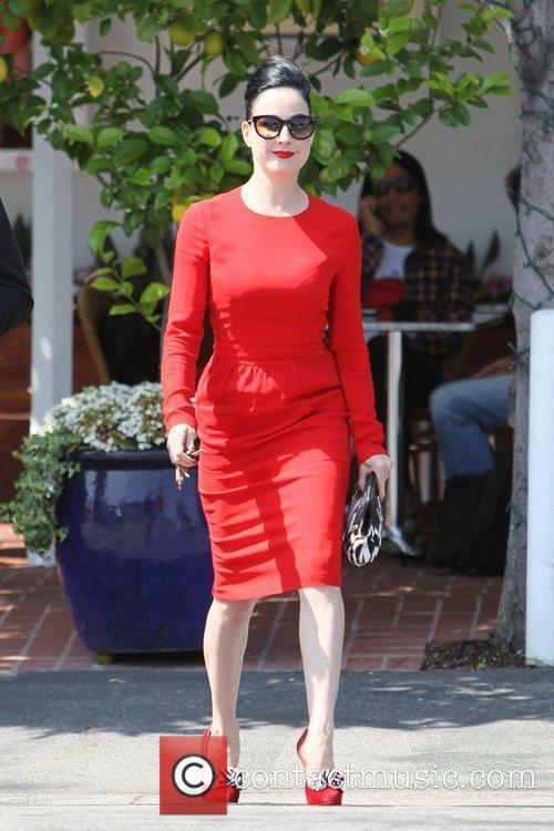 Dita Von Teese, Clutch and Fred Segal 25