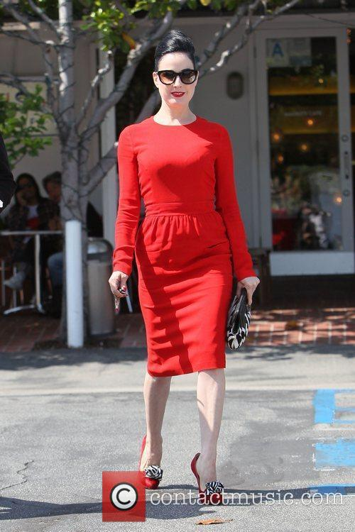 Dita Von Teese, Clutch and Fred Segal 27