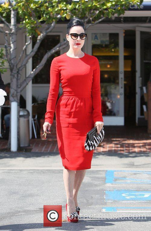 Dita Von Teese, Clutch and Fred Segal 28