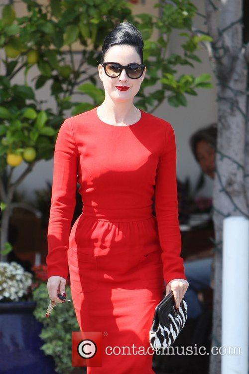 Dita Von Teese, Clutch and Fred Segal 35
