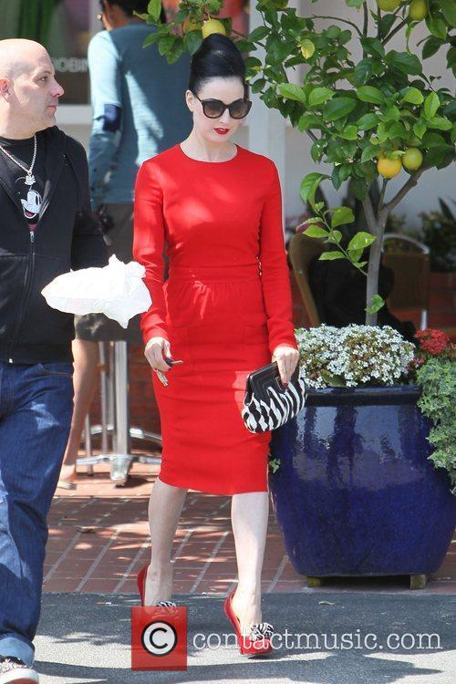 Dita Von Teese, Clutch and Fred Segal 33