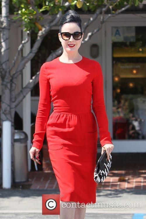 Dita Von Teese, Clutch and Fred Segal 23