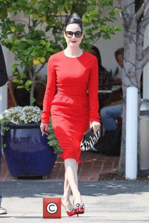 Dita Von Teese, Clutch and Fred Segal 22