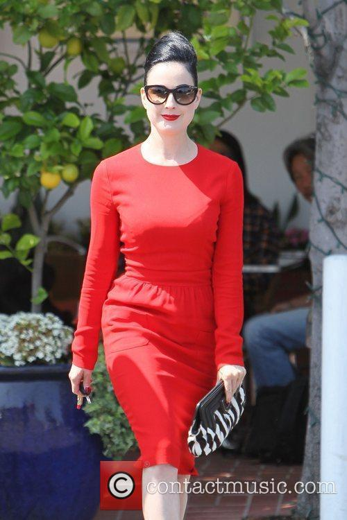Dita Von Teese, Clutch and Fred Segal 24