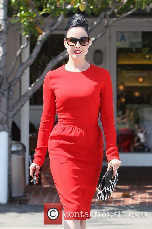 Dita Von Teese, Clutch and Fred Segal 30