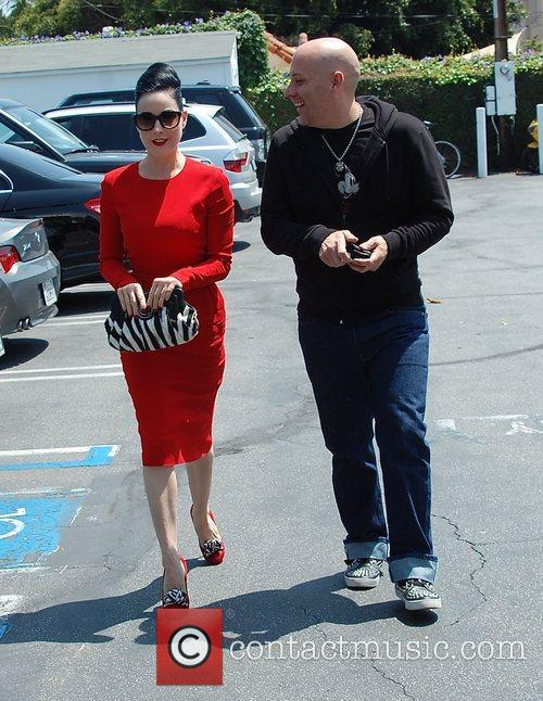 Dita Von Teese, Clutch and Fred Segal 38