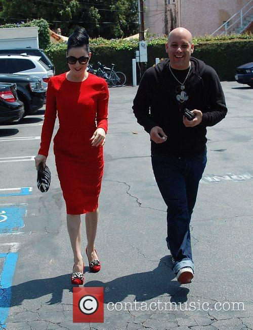 Dita Von Teese, Clutch and Fred Segal 40