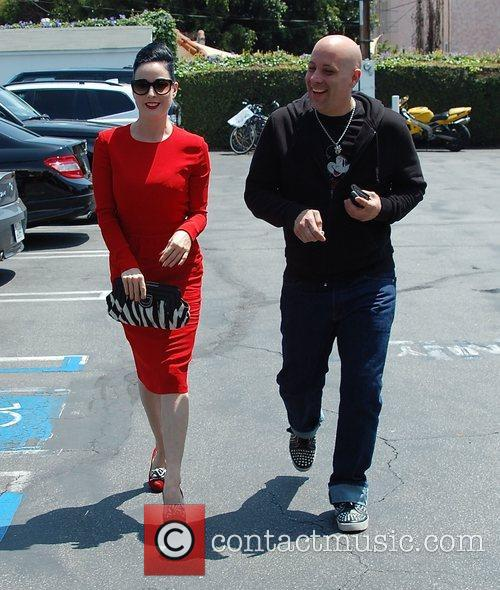 Dita Von Teese, Clutch and Fred Segal 36