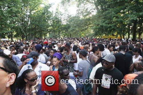 Atmosphere DJ Black Coffee Rip's Brooklyn's Prospect Park...