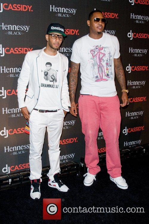 Swizz Beatz and Carmelo Anthony 2