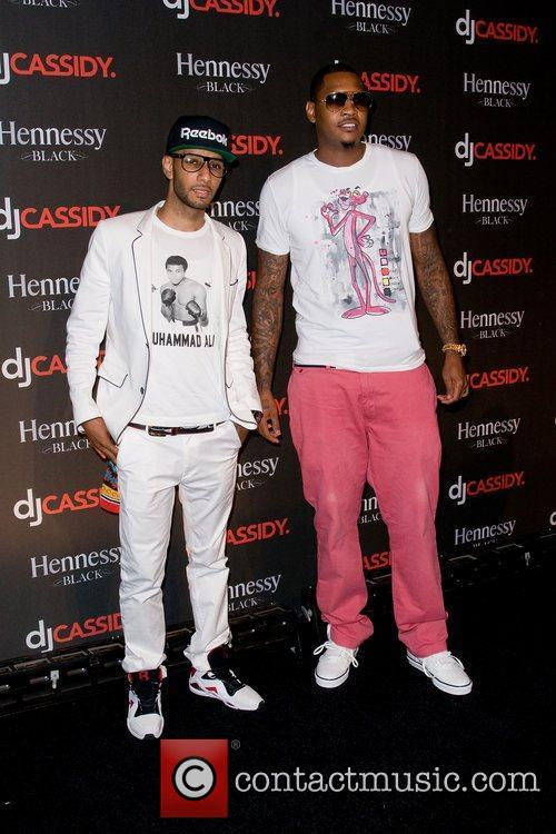 Swizz Beatz and Carmelo Anthony 1