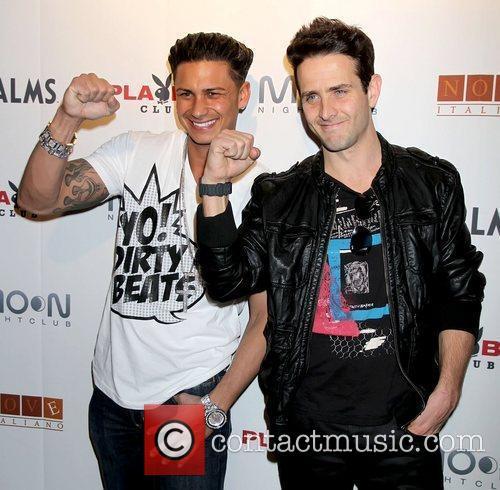 Paul Delvecchio aka DJ Pauly D and Joey...