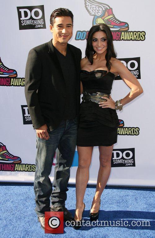 Mario Lopez and Courtney Mazza 2011Do Something Awards...